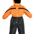 Childrens snowsuit fall — Stock Photo