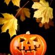Halloween - gamla jack-o-lantern — Stockfoto