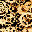 Old mechanism background — Stock Photo