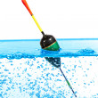 Stock Photo: Fishing float