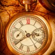Vintage pocket watch — ストック写真
