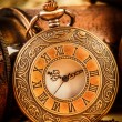 Vintage pocket watch — 图库照片 #35109875