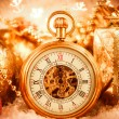 Christmas pocket watch — Lizenzfreies Foto
