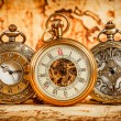 Stock Photo: Vintage pocket watch