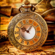 Vintage pocket watch — Stok fotoğraf