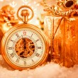 Christmas pocket watch — Stockfoto #35109991
