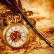 Vintage pocket watch — Foto Stock