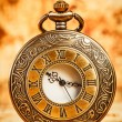 Vintage pocket watch — 图库照片