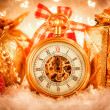 Christmas pocket watch — Stock Photo #35110085