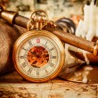 Vintage pocket watch — Stock Photo #39105479