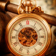 Vintage pocket watch — Stock Photo #39105543