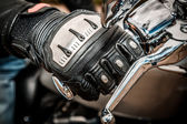 Motorcycle Racing Gloves — Stock Photo