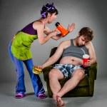 Family quarrel — Stock Photo #42312425