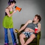 Family quarrel — Stock Photo #42312437