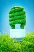 Concept Eco light bulb — Stock Photo