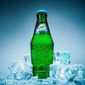 Bottle Soft drink Sprite — Stock Photo