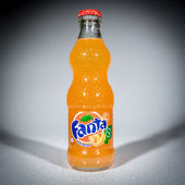Bottle of Fanta Orange — Stock Photo