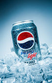 Can of Pepsi cola Lignt. — Stock Photo