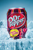 Dr Pepper Cherry Vanilla. — Stock Photo