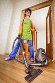 Hausfrau — Stockfoto