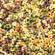 Background from multicolored pasta — Stock Photo #49120521
