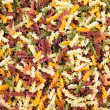 Background from multicolored pasta — Stock Photo #49120531