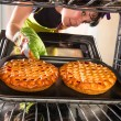 Cooking in the oven at home. — Stock Photo #49120817