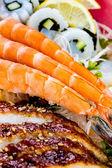 Sea food combination — Stock Photo