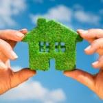 Grass home - Eco Concept — Stock Photo #49876229