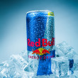 Постер, плакат: Can of Red Bull Energy Drink