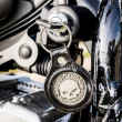 Постер, плакат: Harley Davidson ignition key skull