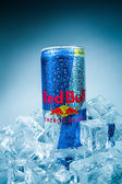 Can of Red Bull Energy Drink. — Foto de Stock