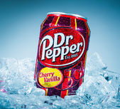 Dr Pepper Cherry Vanilla. — Stock Photo