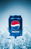 Can of Pepsi cola. — Stock Photo