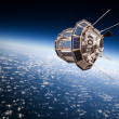 Space satellite over the planet earth — Stock Photo #51022583