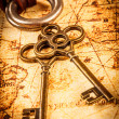 Old keys — Stock Photo #51022767