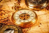 Vintage pocket watch — Stock Photo