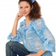 Woman in jeans — Stock Photo #12759689