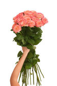 Big bouquet of roses — Stock Photo