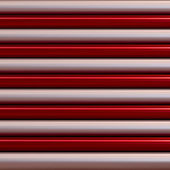 Red and silver pipes — Stock Photo
