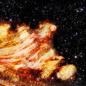 Birth of a new nebula — Stock Photo