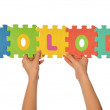 Word color - Stockfoto