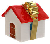 New house as a gift — Foto de Stock