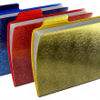 Metalic notepads with expensive color — ストック写真 #12833214