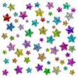 Glamour colorful star — Stock Photo