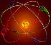 Cold fusion nuclear reactions — Stock Photo