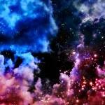 Space galaxy — Stock Photo