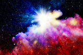 Birth of a new nebula — Stock Photo