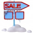 Sale signpost - Stock Photo