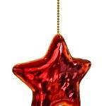 Yılbaşı ağacı yıldız oyuncak — Stok fotoğraf #13671704